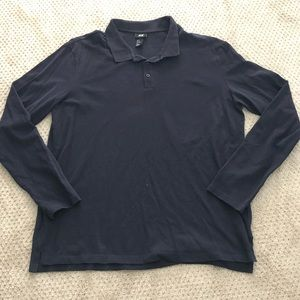 H&M Long Sleeve Collared Shirt